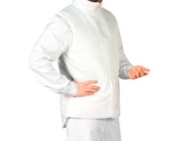 Купить белый жилет для работников пищевых предприятий в Великом Новгороде